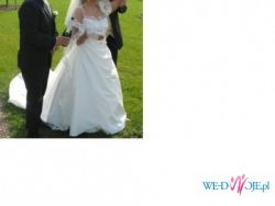 Suknia ślubna Lisa Ferrera rozm.44