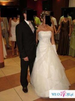 Suknia ślubna - Lisa Ferrera z kolekcji Demetrios/Cosmobella , model  7166
