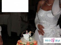 Suknia Ślubna Lisa Ferrrera cosmobella 7247+DODATKI