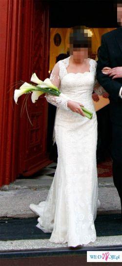 Suknia Ślubna LOMBARDIA(r36) z KOLEKCJI PRONOVIAS