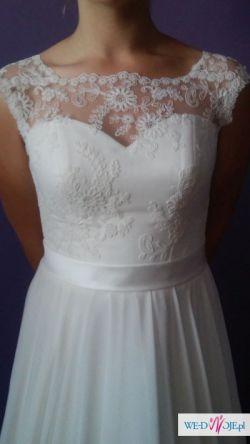 suknia ślubna Lotta z kolekcji Afrodyty 2015 + halka i welon gratis