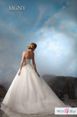 Suknia Ślubna Madeline Gardner 1700 zł ivory 32-34