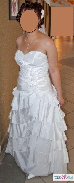 Suknia ślubna MADLEINE 2012 JY 125-22 + Gratisy