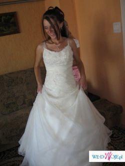 Suknia ślubna MADLEN.Tanio!