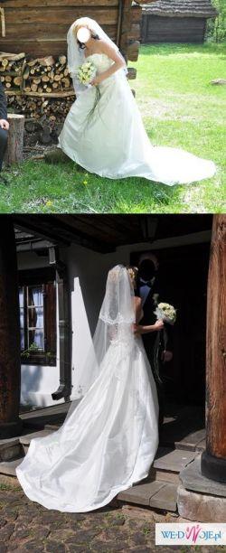 "Suknia Ślubna MADONNA- Manuel Mota ""Scarlet"""