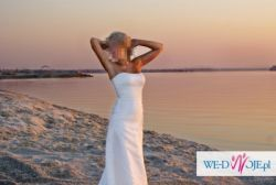 Suknia ślubna - MADONNA; rozm. 36 + gratisy