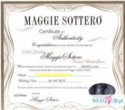 Suknia ślubna Maggie Sottero, model Madelyn - Oryginał !