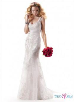 Suknia ślubna Maggie Sottero Sawyer 38 jak nowa