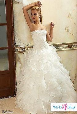 suknia ślubna Maggio Ramatti model Cancan, Babilon lub Diamond r 34/36