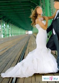 Suknia ślubna Manuel Mota - JEDYNA do kupienia!