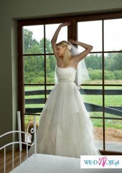 Suknia ślubna Manuel Mota model Salsa
