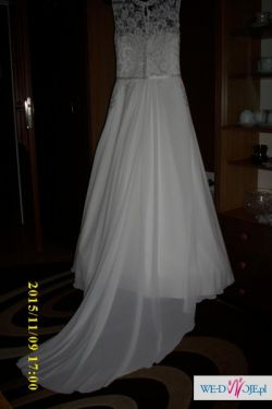 ac5da3ed suknia ślubna Manuela z trenem - szyk i elegancja - Suknie ślubne ...