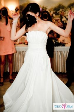 Suknia ślubna Margarett Nicea dla wysokiej