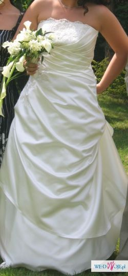 suknia ślubna MARGARETT- rozm. 40 !!