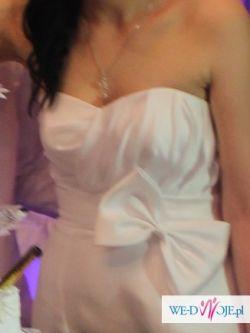Suknia ślubna Mikado rozmiar 38 Siedlce, Ciechanowiec