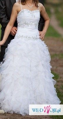 suknia ślubna miss kelly + gratisy
