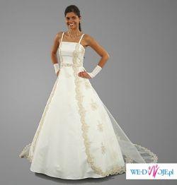 suknia ślubna MISSY ecru
