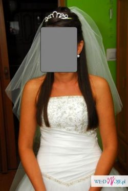 suknia ślubna model CRYSTAL