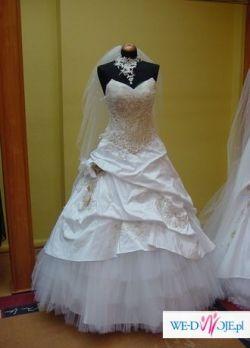 suknia ślubna model Diament-limitowana wersja