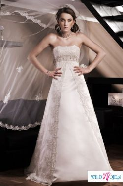 Suknia ślubna model MIRABEL z kolekcji 2009 ANNAIS BRIDAL