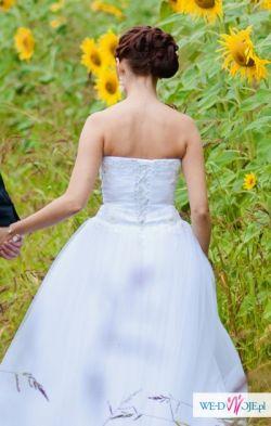 Suknia ślubna model Ortelle rozm. 36 GRATIS halka, bolerko i welony!