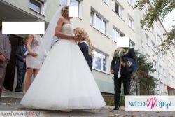 Suknia Ślubna model Proncess 2012 rozm. 38