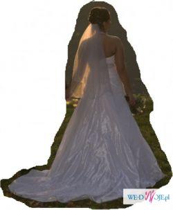 Suknia ślubna MON CHERI rozmiar 38 + dodatki