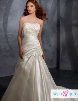 Suknia ślubna - Mori Lee 4709 - Prosta elegancja