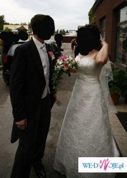 Suknia Ślubna Mori Lee, Cymbeline, rozm. 40-42 ecru