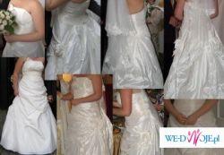 suknia ślubna - mystic vigo w kolorze ecru, rozmiar 44-46