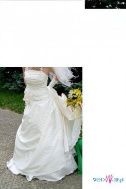 Suknia ślubna na małą kobietkę - 662249015