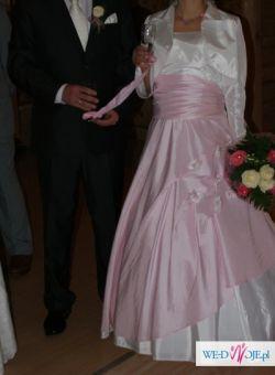 suknia ślubna na szczupłą ale i także kobiete w ciąży