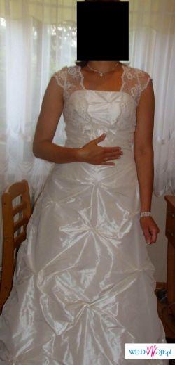 suknia ślubna na wysoką pannę młodą