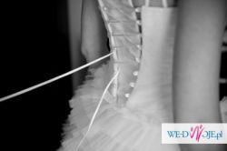 Suknia ślubna na wzór projektu Zienia