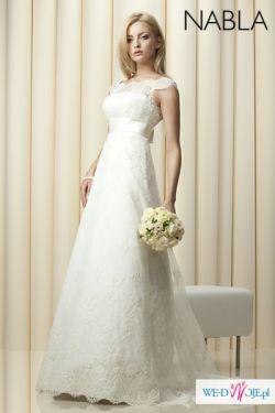 Suknia slubna Nabla Belisma lub Sharon