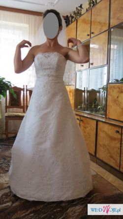 Suknia ślubna Nicole -rozmiar 36