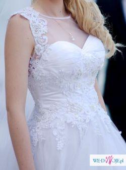 Suknia ślubna - niepowtarzalna !