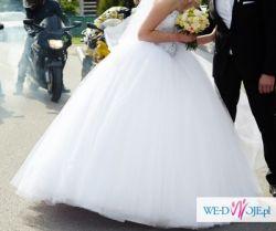 Suknia ślubna obszerna księzniczka Violi Piekut XS S