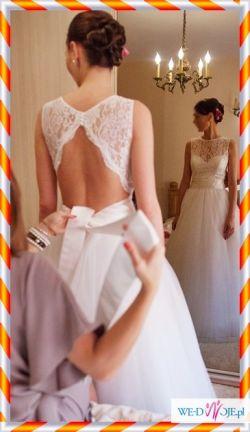 suknia ślubna oryginalna 2013 super plecy MAGGIO RAMATTI SPOSA - HIMERA