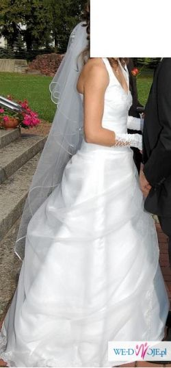 Suknia ślubna - Papa Michael