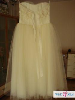 suknia ślubna papilio model 1106 rozm. 34-36 IVORY jak nowa
