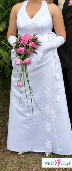 Suknia Ślubna -Piękna i Skromna