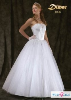 suknia ślubna piękna princeska