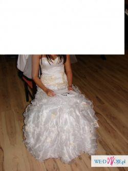 Suknia ślubna PIĘKNA rozm 36-38