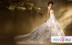 Suknia ślubna plus darmowy projekt