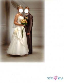 Suknia ślubna plus wieczorowa gratis