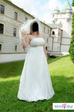 Suknia ślubna PRIMAVERA ecru