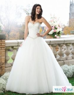 Suknia ślubna- princeska