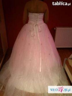 suknia slubna princessa