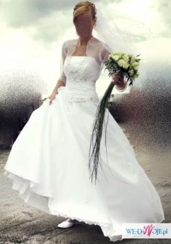 suknia ślubna PRINCESSA + dodatki